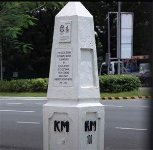Clark Bataan Death March Marker